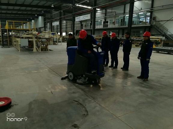 陕西北新建材工厂车间