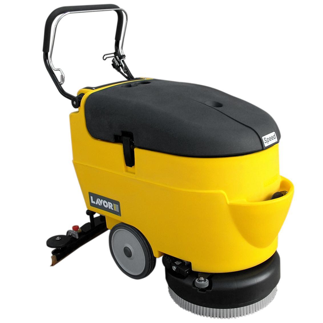 拉瓦电瓶式洗地机