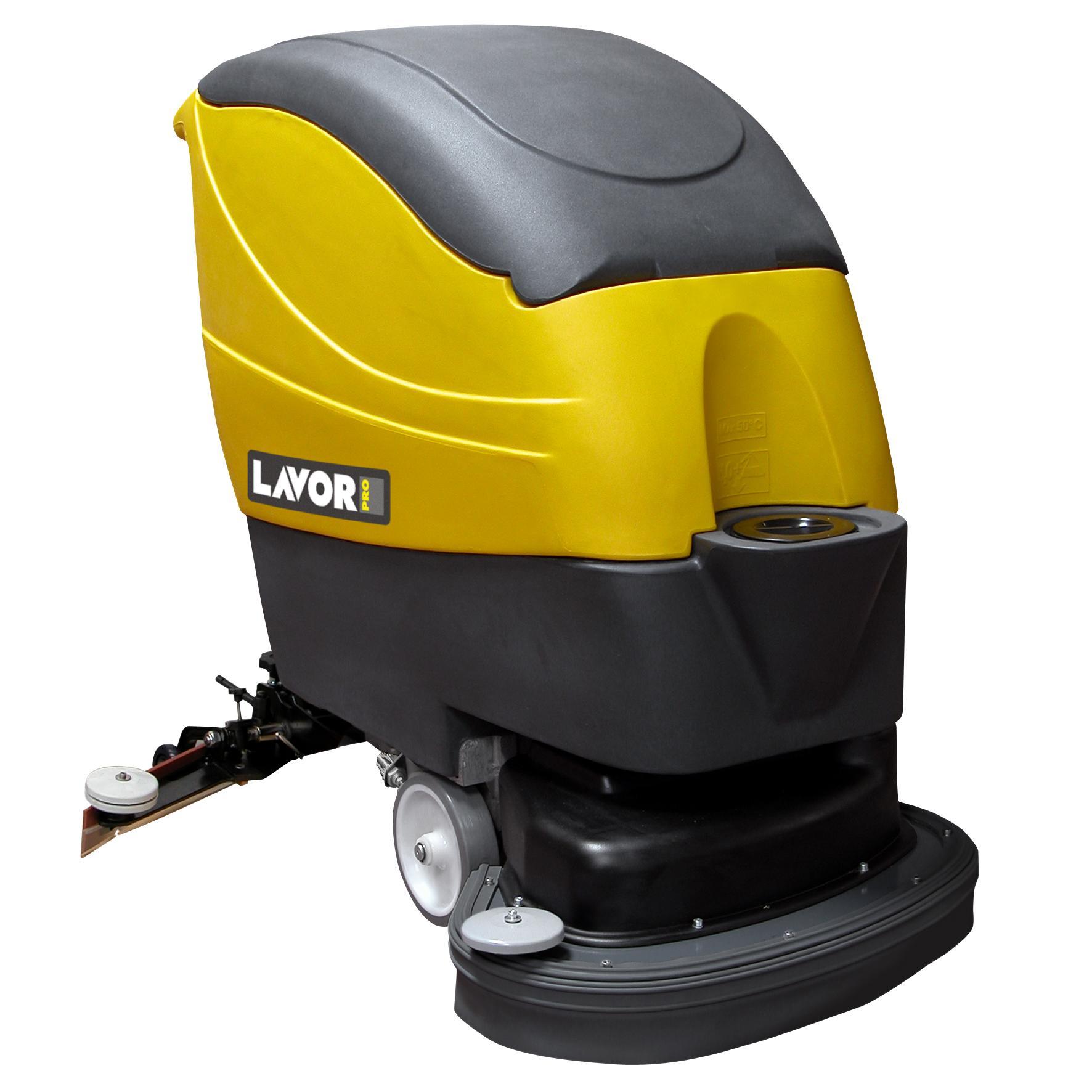 拉瓦手推式洗地机