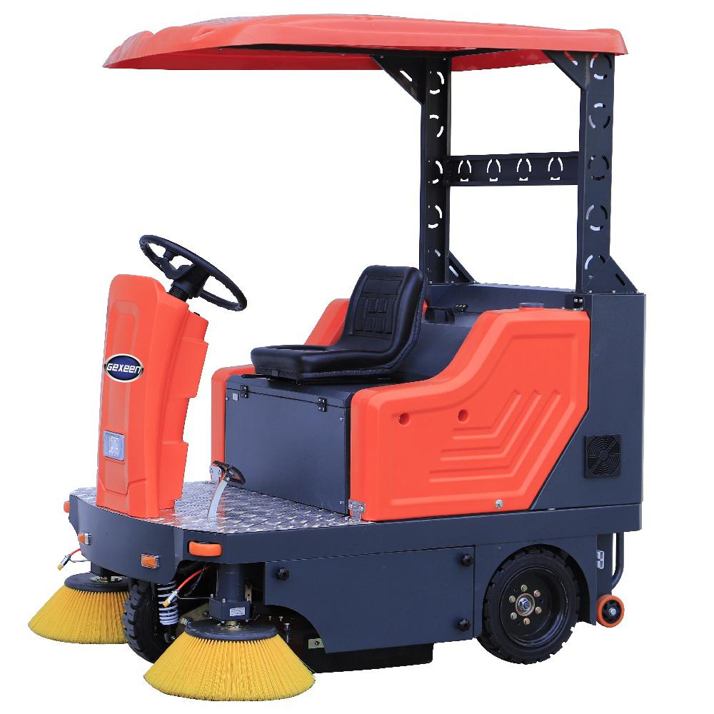 电动驾驶式扫地车_GEX