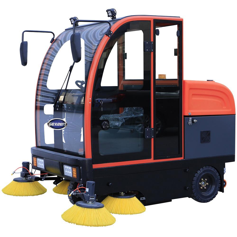 西安扫地车_电动驾驶式扫
