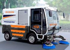 w88优德老虎机平台明诺纯吸式电动扫路车